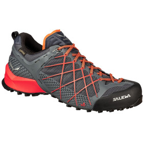 SALEWA Wildfire GTX Chaussures Homme, ombre blue/fluo orange